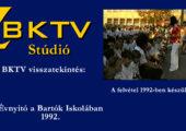 A Bartók Iskola évnyitó ünnepsége 1992