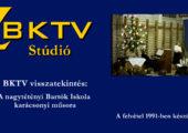 Bartók Iskola karácsonyi hangversenye 1991