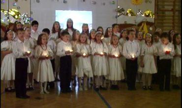 A Bartók Iskola karácsonyi műsora 2007