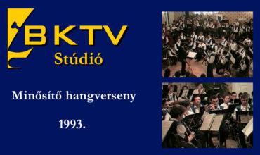 Minősítő hangverseny 1993